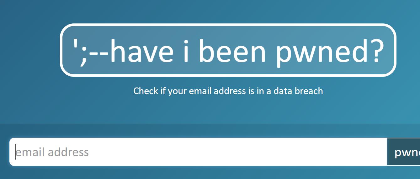 在线查询你的密码是否泄漏